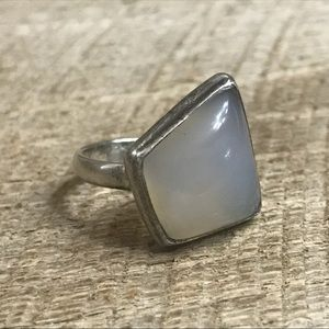Jewelry - 925 Sterling Silver Moonstone Ring